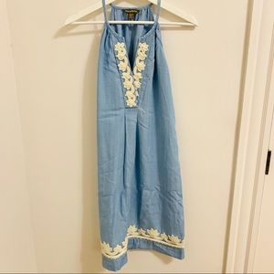 Tommy Bahama Dress Tencel Sky Blue